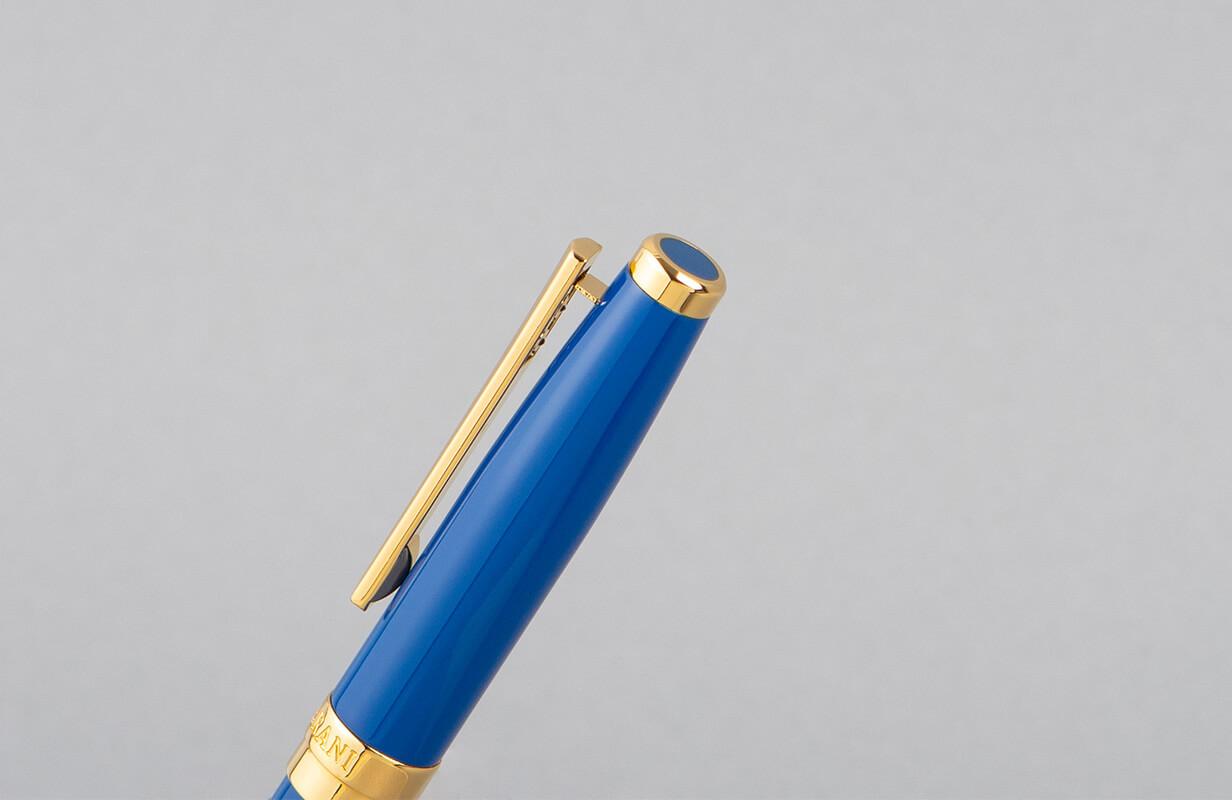 قلم أزرق ذهبي سادة - نيتو ماراني