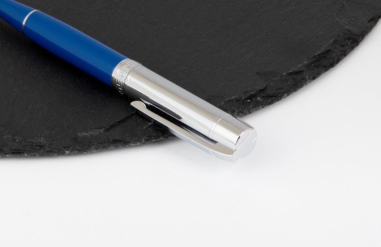 قلم ازرق فضي سادة - نيتو ماراني