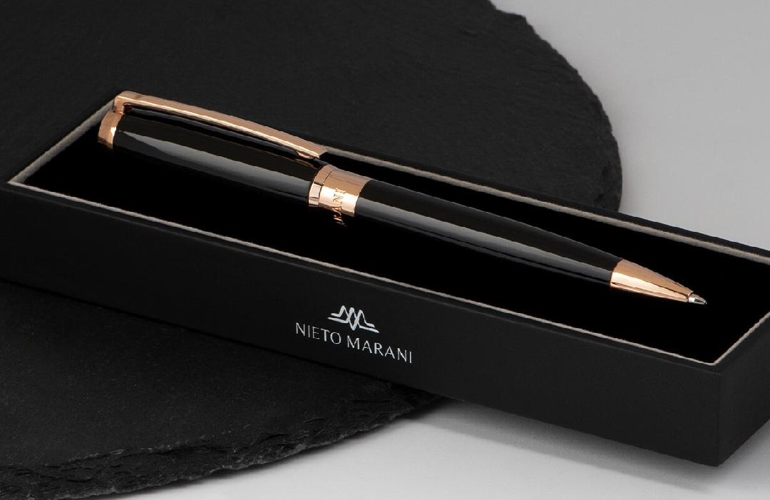 قلم نيتو ماراني اسود روز ذهبي