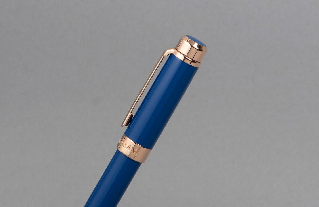 قلم نيتو ماراني روز ذهبي ازرق داكن