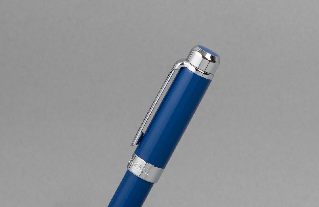 قلم نيتو ماراني فضي ازرق داكن
