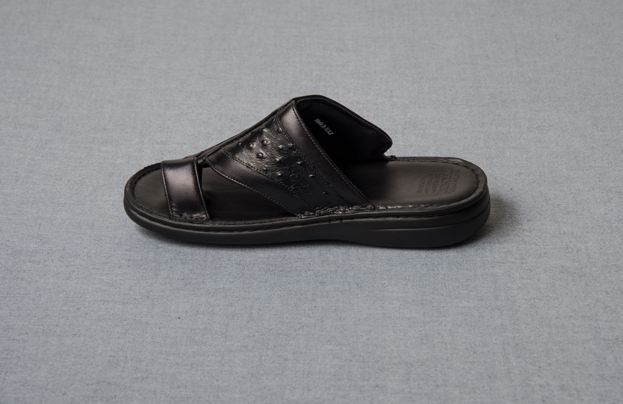 SHOES BLACK VERMONTI