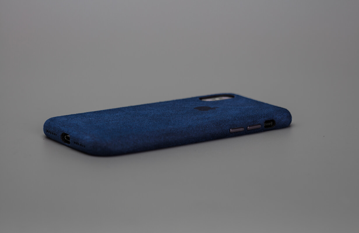 Macro Navy Blue Case Cover for IPhone XMax